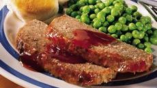 Home-Style Meat Loaf with Maple Glaze Recipe