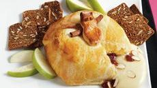 Baked Brie with Raspberry Preserves Recipe