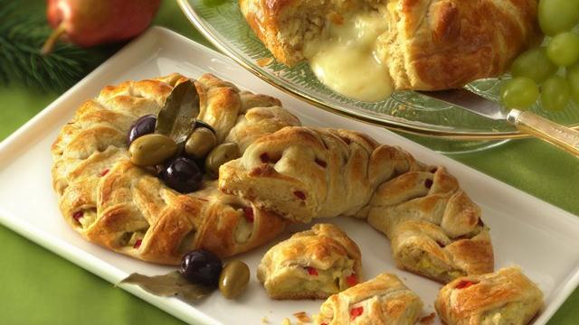 Image of Artichoke-cheese Braids, Pillsbury