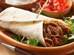 Slow Cooker Southwestern Pork Burritos
