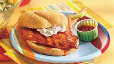 Grilled Buffalo Chicken Sandwiches Recipe