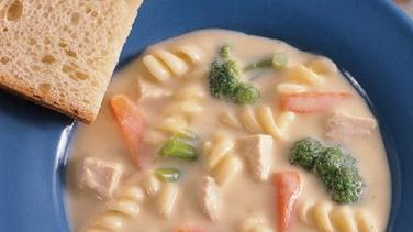 Creamy Chicken and Vegetable Soup
