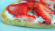 Summer Strawberry Pizza Recipe