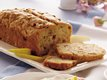 Pear-Rhubarb Flaxseed Bread
