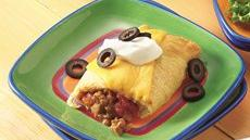 Crescent Beef Burritos Recipe