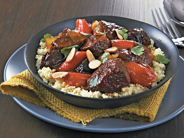 Slow Cooker Spiced Lamb Tagine