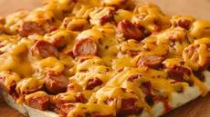 Grilled Hot Dog Pizza Recipe