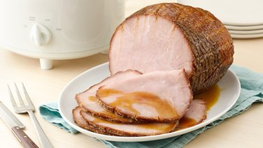 Slow-Cooker Maple-Brown Sugar Ham