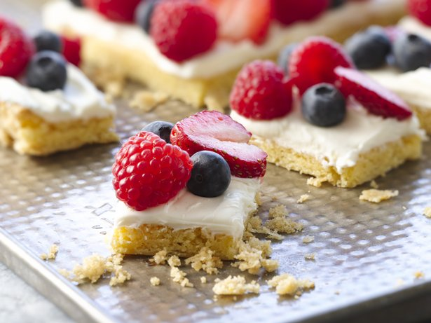 Easy Berry Bars