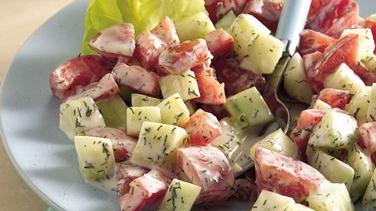 Dilled Cucumber-Tomato Salad