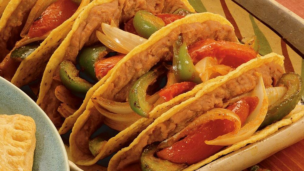 Roasted Veggie Tacos recipe from Pillsbury.com