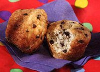 Chocolate Chip-Banana Muffins