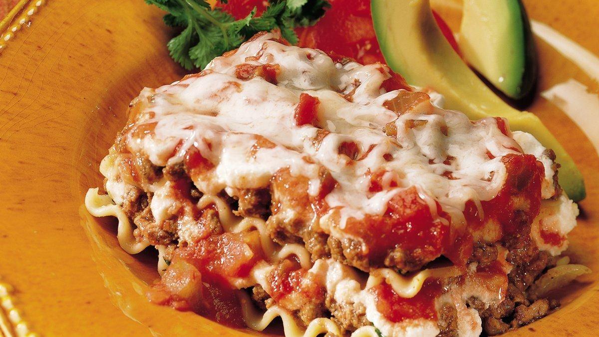 Tex-Mex Salsa Lasagna - Life Made Delicious