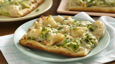 Saucy Shrimp and Broccoli Pizza Recipe
