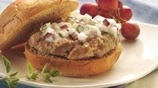 Greek Turkey Burgers Recipe