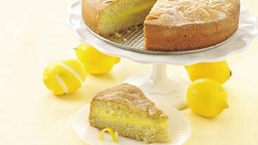 Lemon Custard-Filled Cake