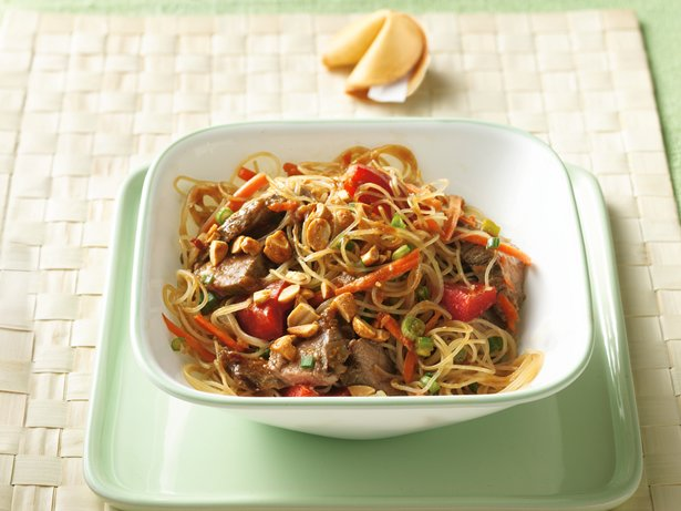 Grilled Thai Beef-Noodle Salad
