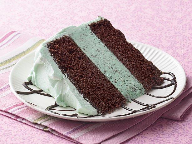 Mint-Chocolate Ice Cream Cake recipe from Betty Crocker