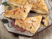 Almond-Cream Cheese Triangles