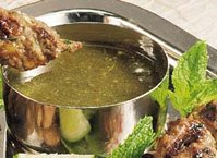Mint-Cilantro Chutney (Pudhina Thuviyal)
