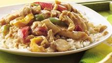 Peanut-Chicken Stir-Fry Recipe