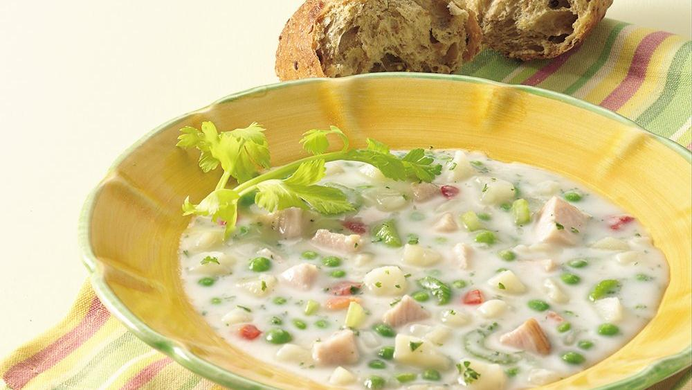 Smoked Turkey-Potato Chowder