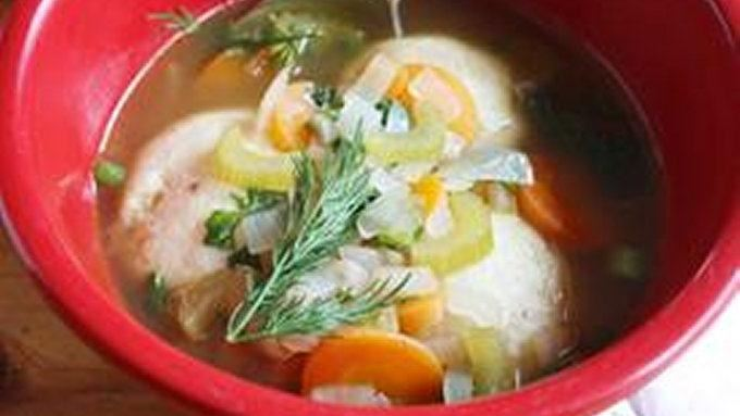 Vegetarian Matzo Ball Soup recipe - from Tablespoon!