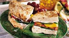 Garden Panini Recipe