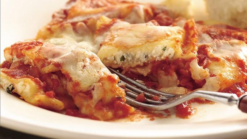 Easy Ravioli Bake recipe from Betty Crocker