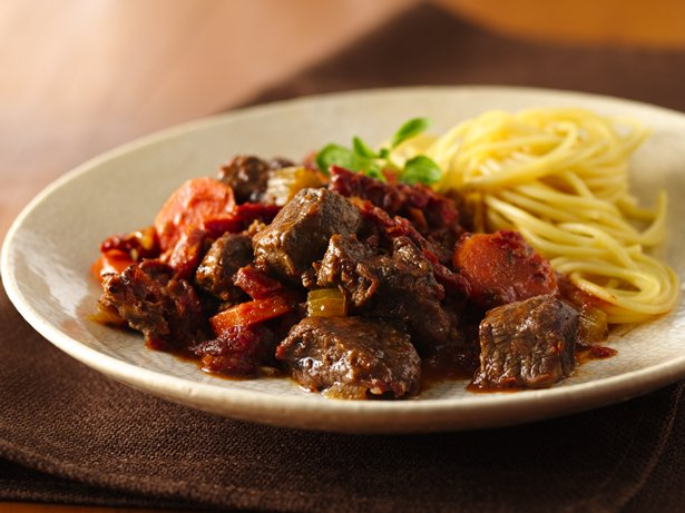 Slow Cooker Chunky Beef Ragu