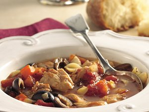 Slow&#32;Cooker&#32;Italian&#32;Chicken-Pasta&#32;Soup