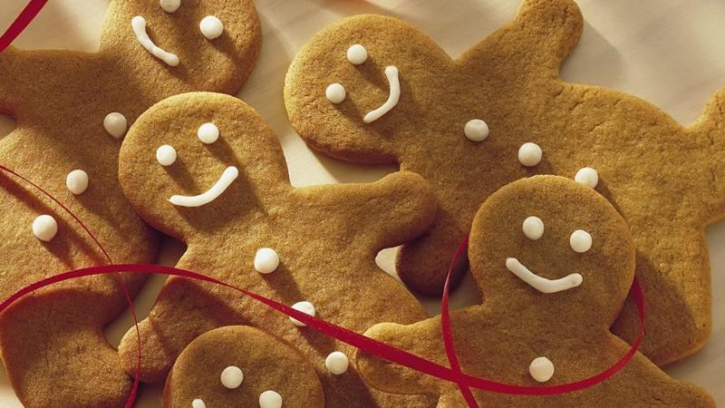 Whole Wheat Gingerbread Cutouts