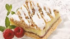 Raspberry Pecan Cream Cheese Bars Recipe