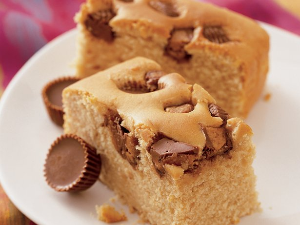 Candy Bar Peanut Butter Cake
