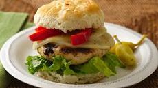 Zesty Italian Turkey Burgers Recipe