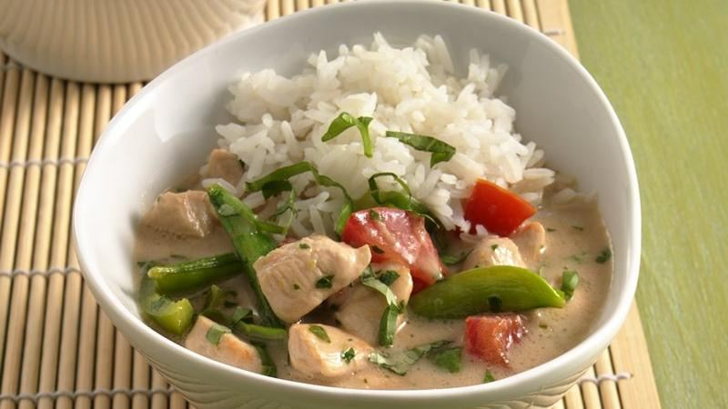 Thai-Style Coconut Chicken recipe from Betty Crocker