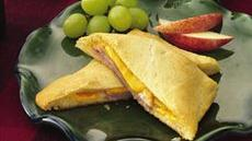 Ham and Cheese Crescent Sandwiches (club store pack) Recipe