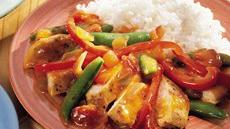 Orange-Cumin Chicken and Vegetables Recipe