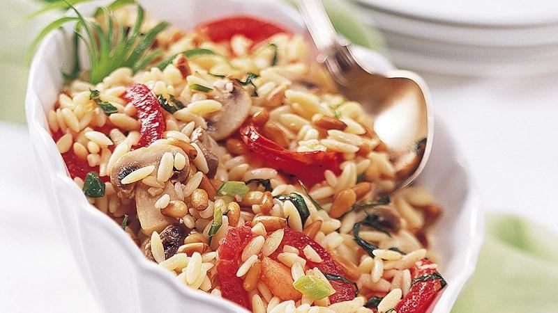 Herbed Orzo Pilaf (Crowd Size)