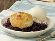 Blackberry Dumpling Cobbler