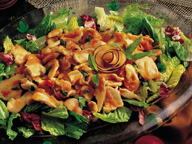 Gluten Free Chicken Salads with Plum Sauce