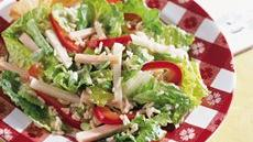 Turkey Rice &#39;n Romaine Salad Recipe