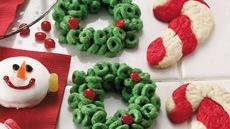 Cereal Holly Wreaths Recipe