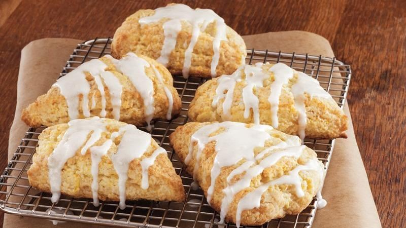 Glazed Orange-Ginger Scones recipe from Betty Crocker