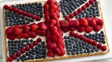 Union Jack Fruit Pizza Recipe