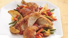 Oven-Roasted Chicken and Vegetables (Cooking for Two) Recipe
