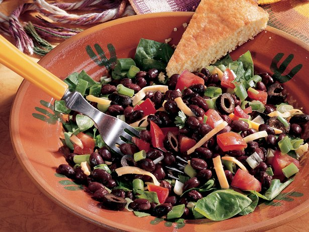 Black Bean Taco Salad recipe from Betty Crocker