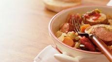 Slow Cooker Harvest Sausage and Vegetable Casserole Recipe