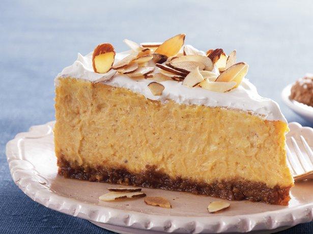 Amaretto-Pumpkin Cheesecake recipe from Betty Crocker