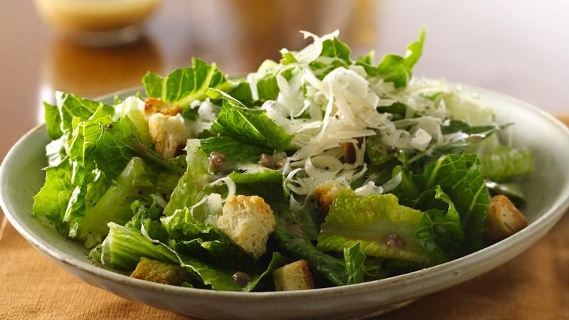 Caesar Salad recipe from Betty Crocker